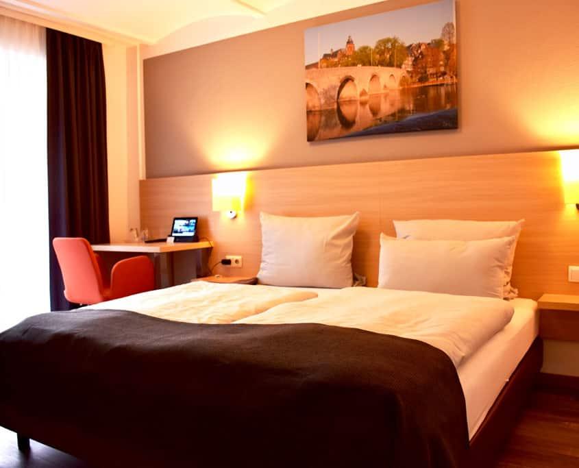 Beschreibung der Hotelzimmer Altes Eishaus, Hotel & Restaurant